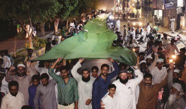بہاولپور میں یومِ پاکستان پر پرچم بردار ریلی