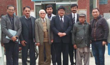 بہاولپور بار ایسوسی ایشن کابینہ کی بہاولپور یونین آف جرنلسٹ سے ملاقات