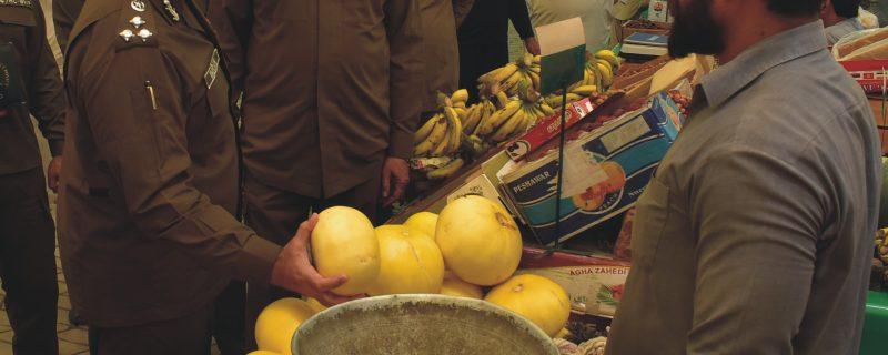 آر پی او بہاولپور نے ڈی پی او کے ہمراہ رمضان بازاروں کی سکیورٹی کا جائزہ لیا