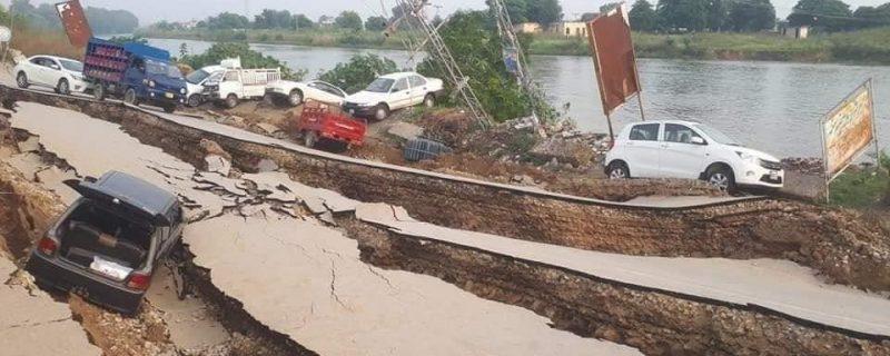 آزاد کشمیر میں زلزلہ ، 2 افراد جان بحق اور 72 زخمی