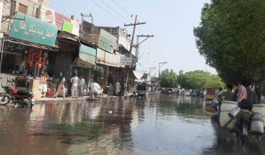 بہاولپور میں بھی جب بارش ہوتی ہے تو پانی آتا ہے