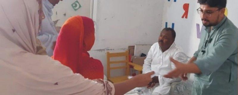 بہاولپور، مستحْق افراد کیلئے فری میڈیکل کیمپ