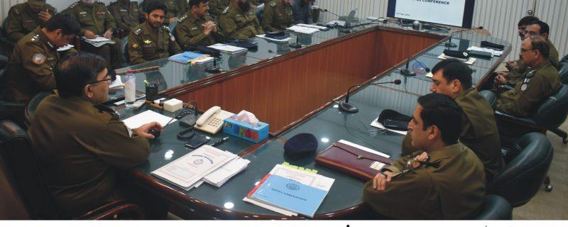 بہاولپور ریجن بھر کے ڈی پی اوز، ایس ڈی پی اوز کی میٹنگ