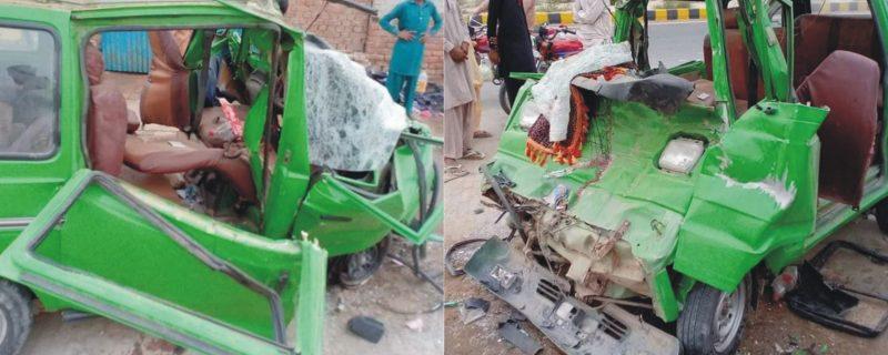 بہاولپور ٹریفک حادثہ، بچوں سمیت 5 افراد جاں بحق