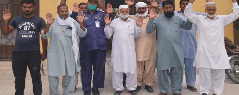 بہاولپور میں 300 پولیس رضاکار نوکری سے فارغ