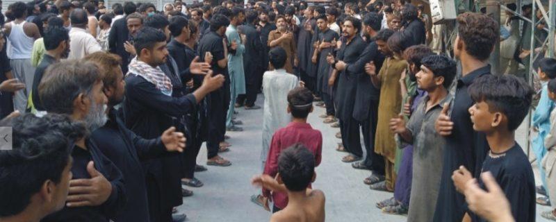 آج 9 محرم الحرام ضلع بھر میں 30 جلوس اور 77 مجالس کا انعقاد