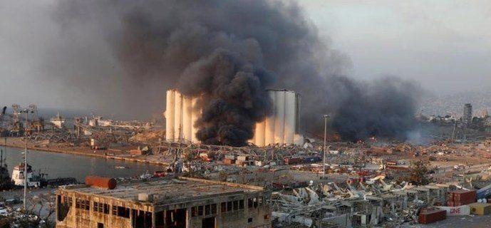 بیروت دھماکہ، ہلاکتوں کی تعداد 100 سے تجاوز