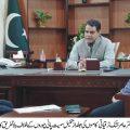 سیکرٹری محکمہ آبپاشی جنوبی پنجاب نے عہدے کا چارج سنبھال لیا
