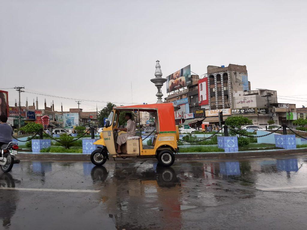 بہاولپور میں بارش، موسم خوشگوار