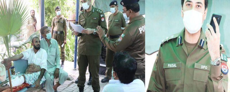 ایس ایچ او کا کاروائی سے انکار، متاثرہ خاتون ڈی پی او آفس پہنچ گئی